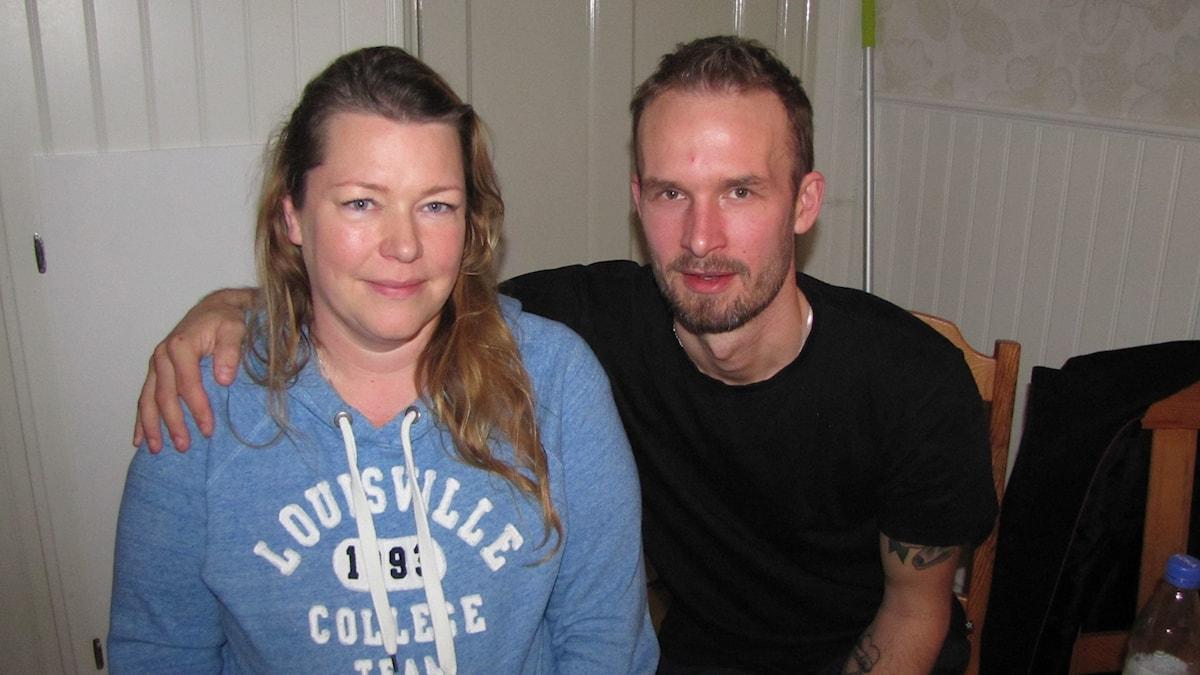 Annelie och Jonas Malmqvist. Foto: Mari Winarve/Sveriges Radio