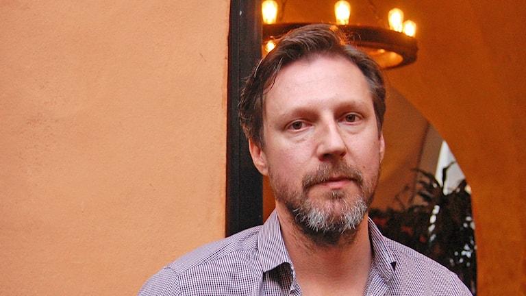 Micke Landberg. Foto: Jack Lantz/Sveriges Radio