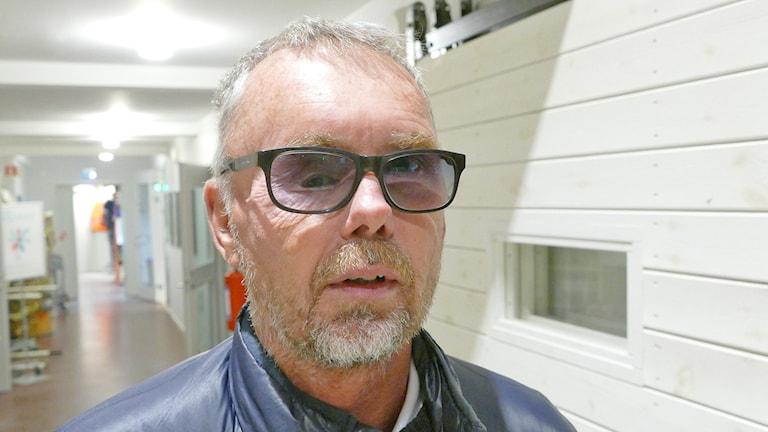 Janne Sandberg. Foto: Mika Koskelainen/Sveriges Radio