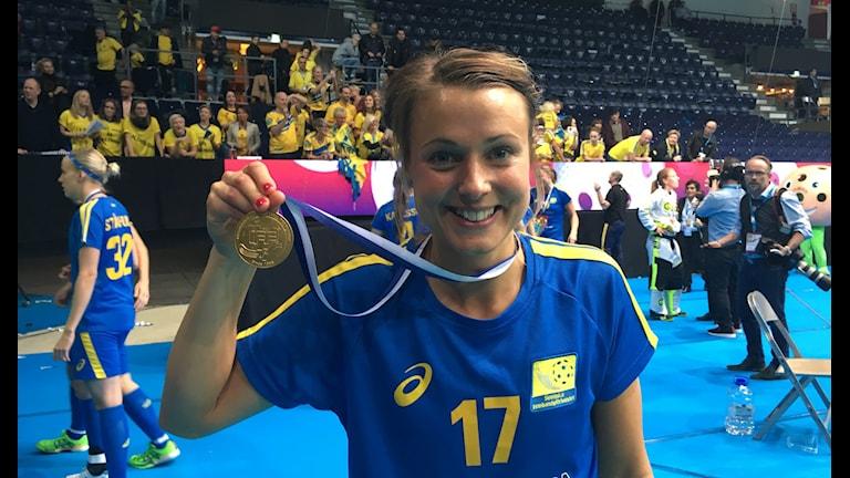 Anna Jakobsson. Foto: Hanna Sihlman/Sveriges Radio
