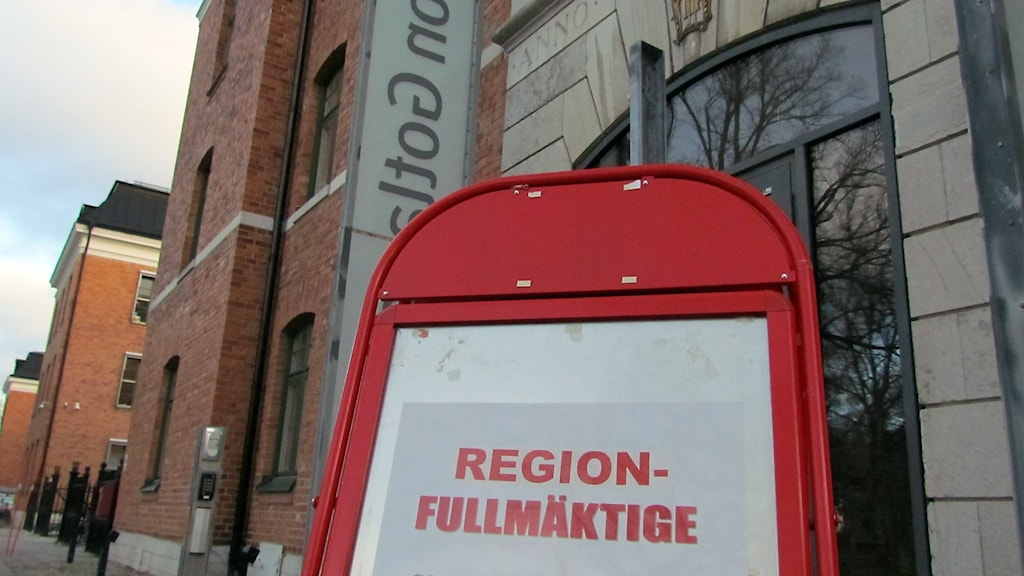 Regionfullmäktige sammanträder. Foto: Jonas Neuman/Sveriges Radio