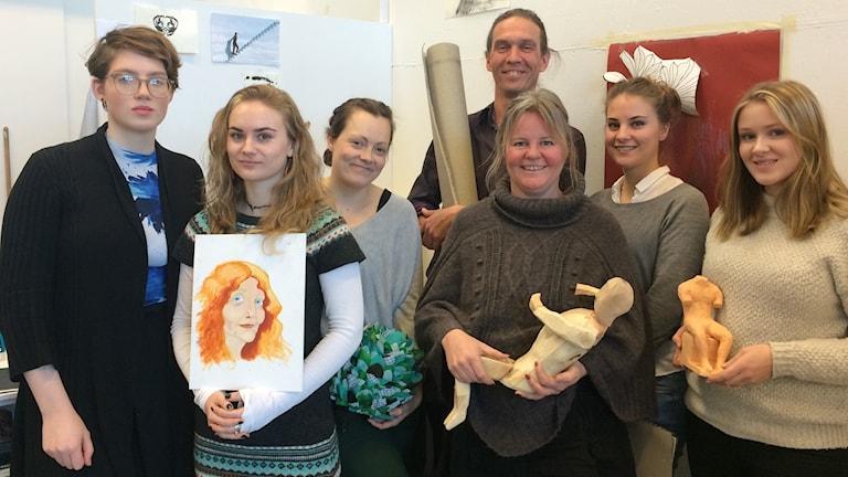 Rebecka Lundgren, Klara Dunger, Sofie Jakobsson, Torbjörn Limé, Madeleine Berg, Emma Härdin, Sara Lindblad, Gotlands Konstskola