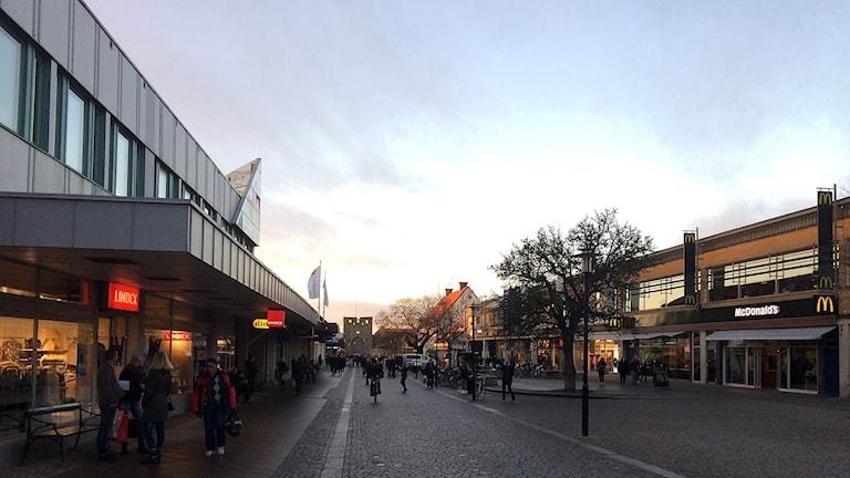 Östercentrum i Visby. Foto: Jonas Neuman/Sveriges Radio