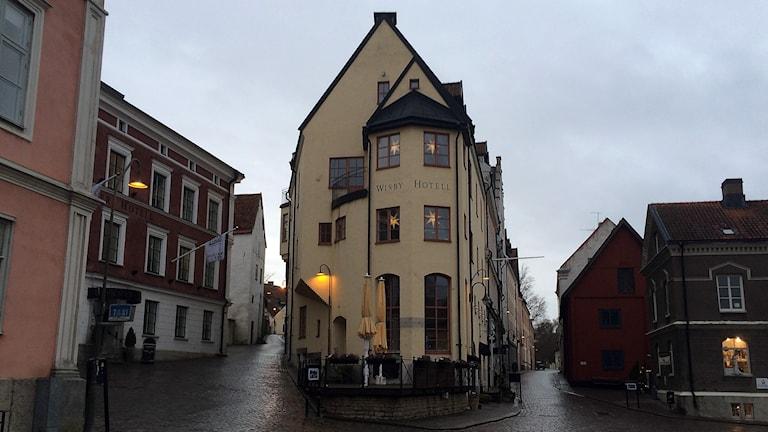 Visby hotell. Foto: Jonas Neuman/Sveriges Radio