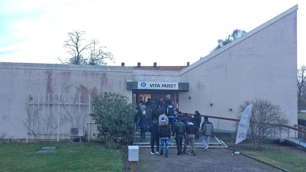 "IOGT NTO:s lokal ""Vita huset"" i Visby. Foto: Jonas Neuman/Sveriges Radio"
