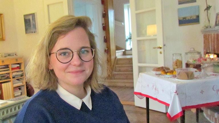 Stina Norberg. Foto: Tomas Ardin/Sveriges Radio