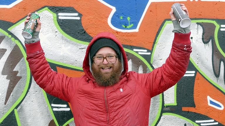 Fredrik Isakson. Foto: Jonas Neuman/Sveriges Radio