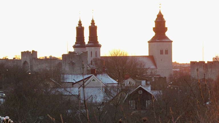 Domkyrkan i Visby.