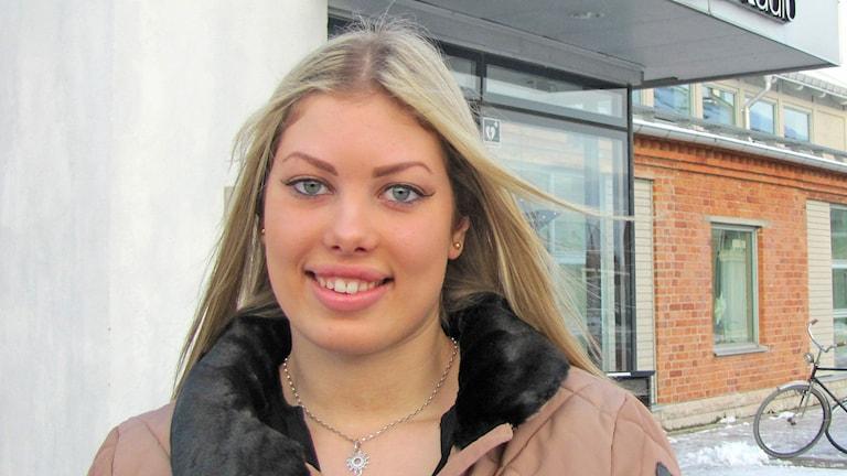Maja Almgren. Foto: Mika Koskelainen/Sveriges Radio