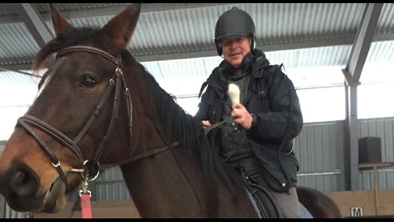 Tomas Ardin på hästen Smash