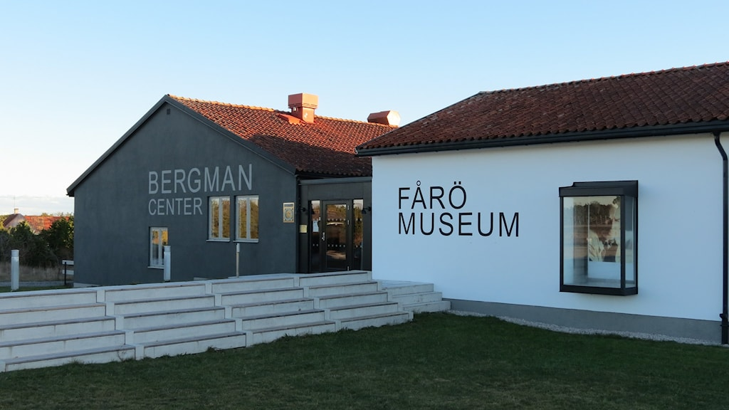 Bergmancenter och Fårö hembygdsmuseum. Foto: Johan Hellström/Sveriges Radio