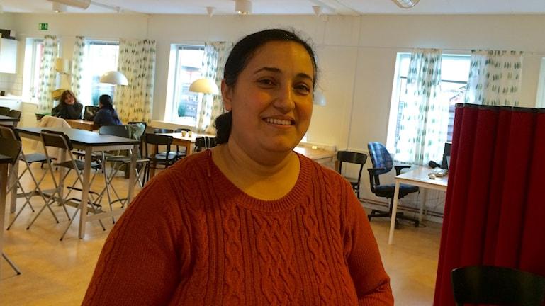 Aitan Rashid har hittat kulturvänner. Foto: Ulrika Uusitalo Fernholm/Sveriges Radio