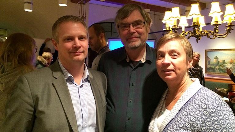 Johan Granath, Hillar Loor och Camilla Leveau