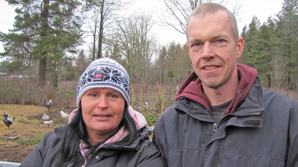 Anna Dahlström-Danneker och Urban Dahlström. Foto: Mari Winarve/Sveriges Radio