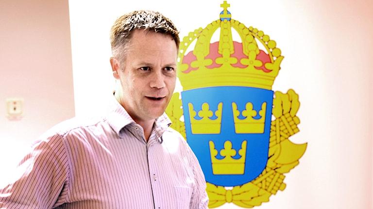 Gotlands polismästare Torbjörn Nilsson.