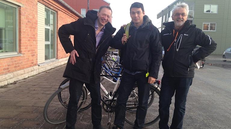 Henrik Broén, Mahdi Rezaei och Anders Selin