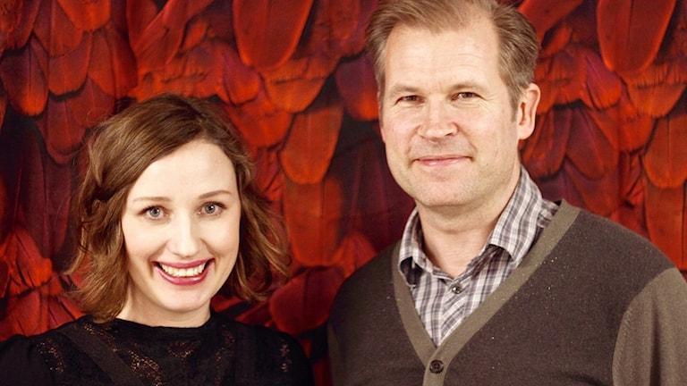Elin Bååth och Stefan Wesley. Foto: Carolina Durell