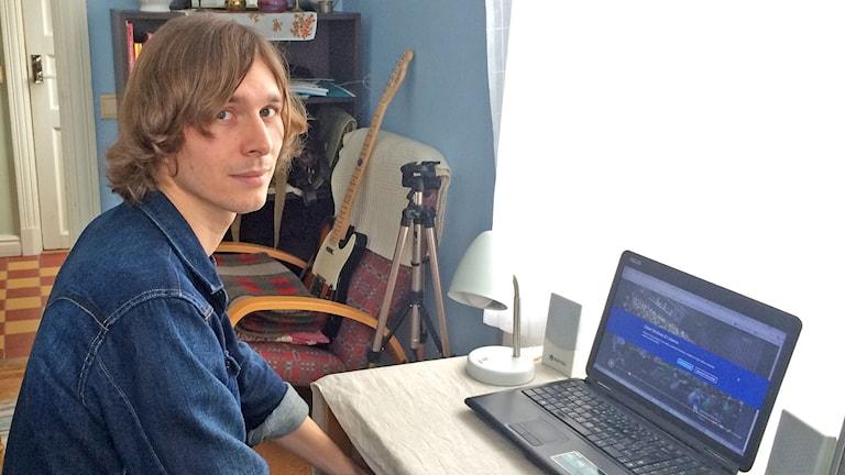 Jan Hlava. Foto: Ulrika Uusitalo Fernholm/Sveriges Radio