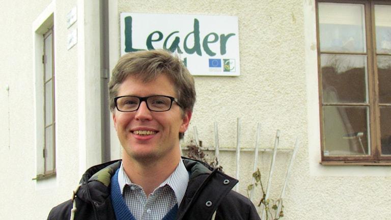 John Gambe, Leader Gute. Foto: Jonas Neuman/Sveriges Radio