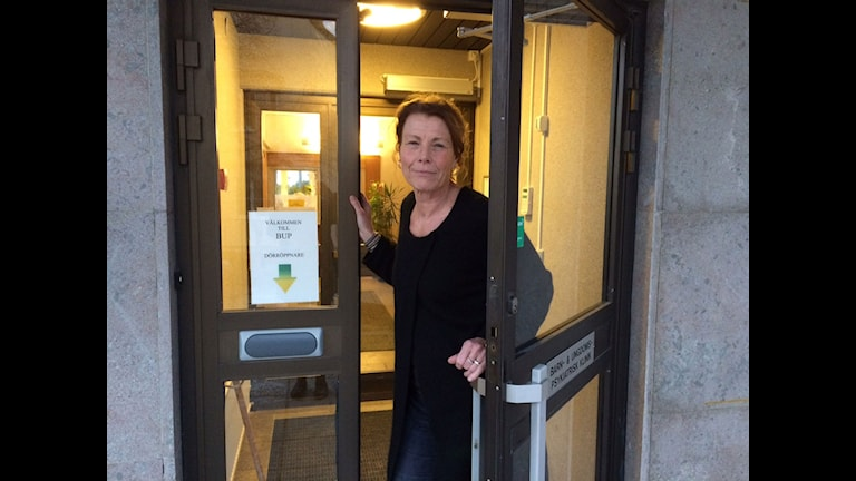 Maria ten Siethoff, enhetschef BUP. Foto: Anna Jutehammar/ Sveriges Radio