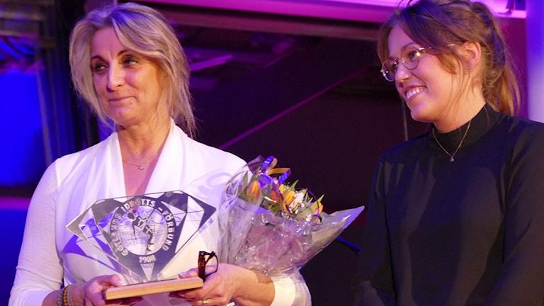 Eva Werkelin årets idrottspersonlighet under idrottsgalan 2015