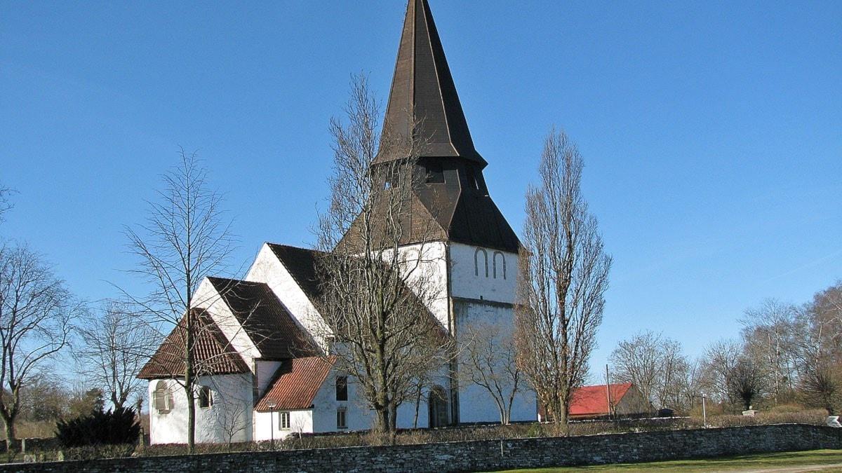 Alva kyrka. Foto: Mari Winarve/Sveriges Radio