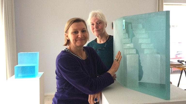Mette Björnberg och Ann Wolff