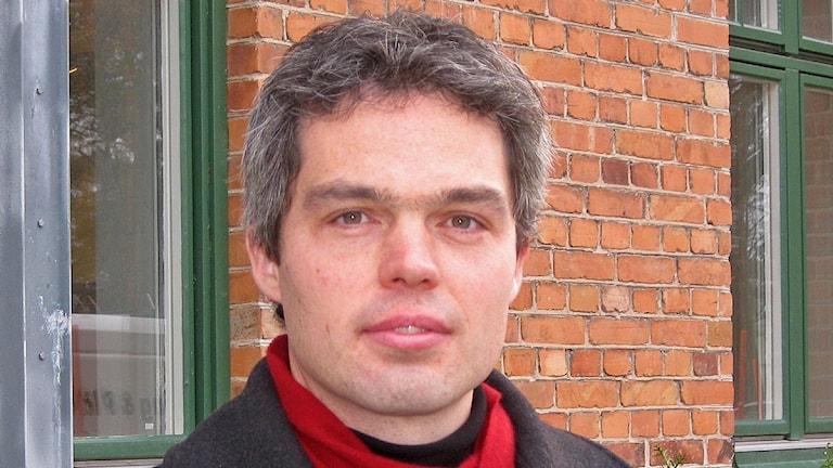 Stefaan De Maecker. Foto: Jonas Neuman/Sveriges Radio