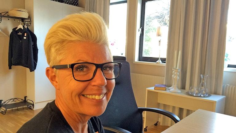 Chamilla Westerberg. Foto: Patrik Annerud/Sveriges Radio