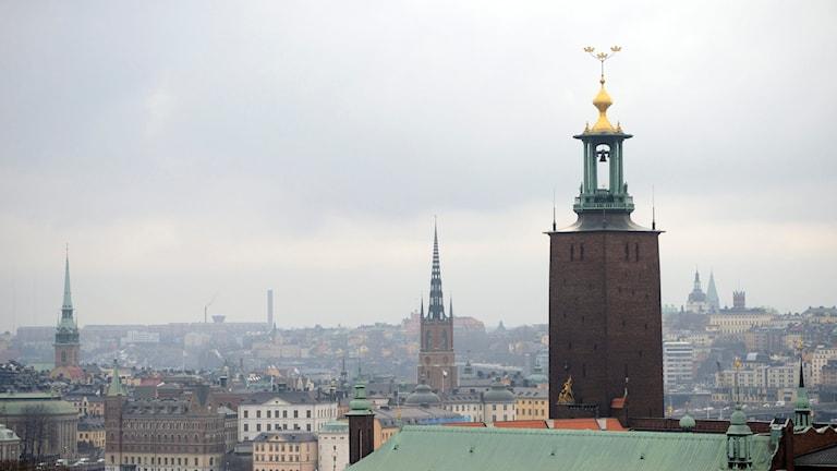 Stockholm. Foto: HENRIK MONTGOMERY / TT