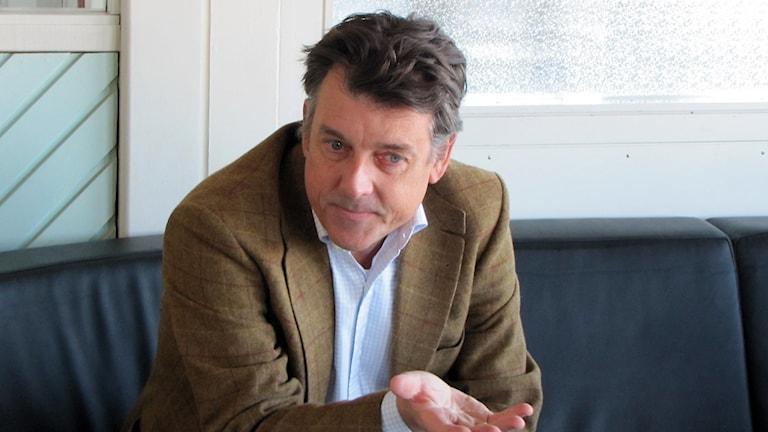 Henri de Sauvage, vd för Arla Sverige.