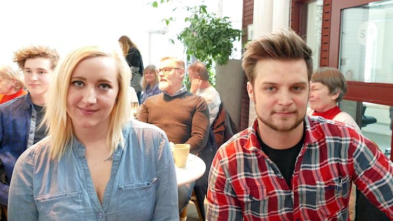 Madde Karlsson och Oscar Svensson
