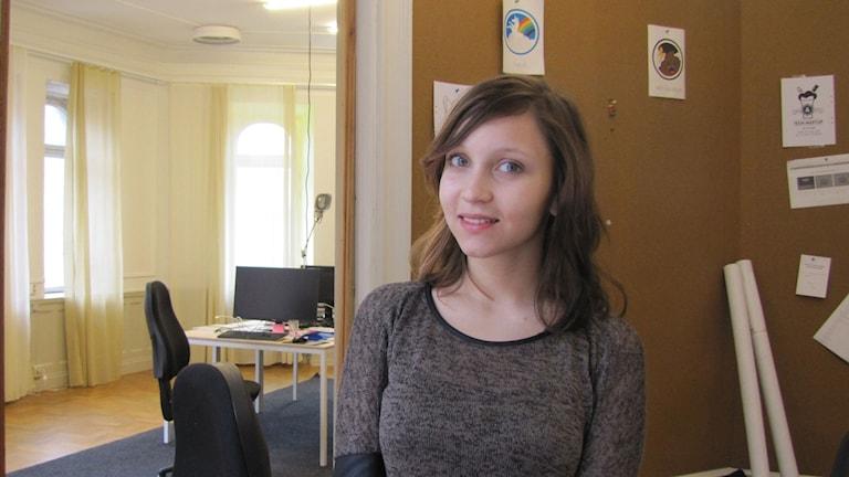 Jullietta Stoencheva. Foto: Anna Jutehammar/ Sveriges Radio