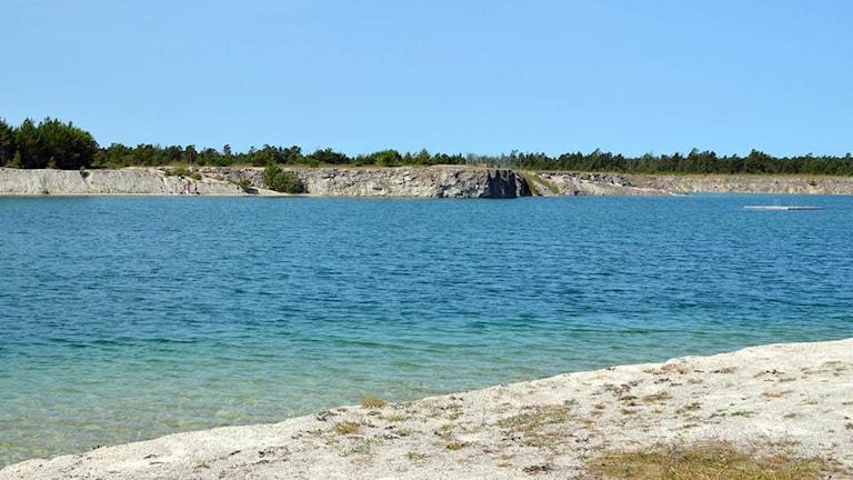 Blå Lagunen. Foto: Cristina Jardim Ribeiro/Sveriges Radio