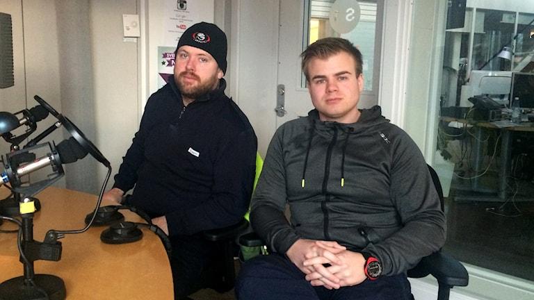 Mats Stockmarr och Martin Goblirsch från RS Visby.