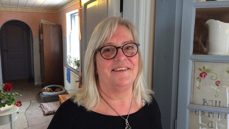 Anita Widén, Vamlingbo. Foto: Daniel Värjö/Sveriges Radio
