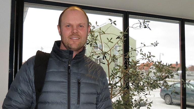 Mattias Sippmanne, arbetsförmedlingen. Foto: Malin Nordström/Sveriges Radio.