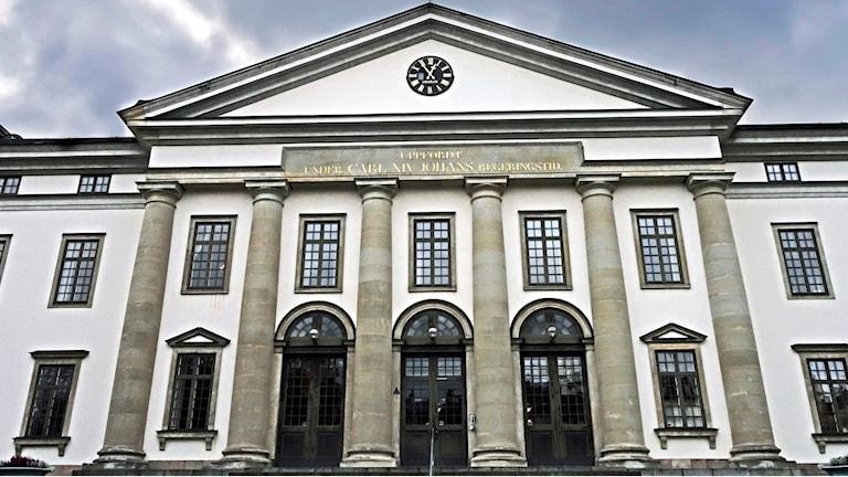 Stockholms läns landstingshus.