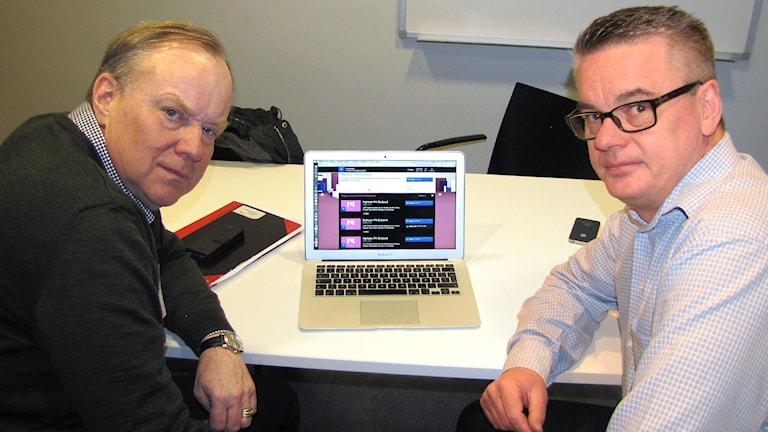 Rolf Andersson och Anders Granvald