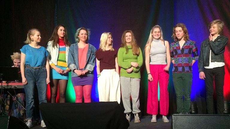Kulturskolans Teatergrupp Qualitism.