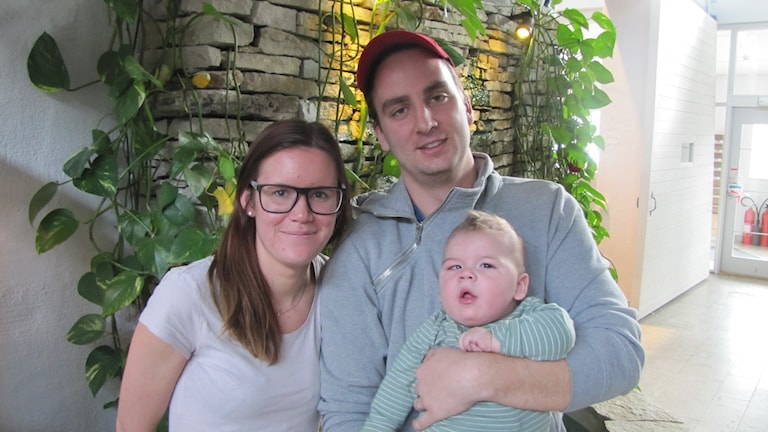 Emma Larsson, Mattias flodman med sonen Melker