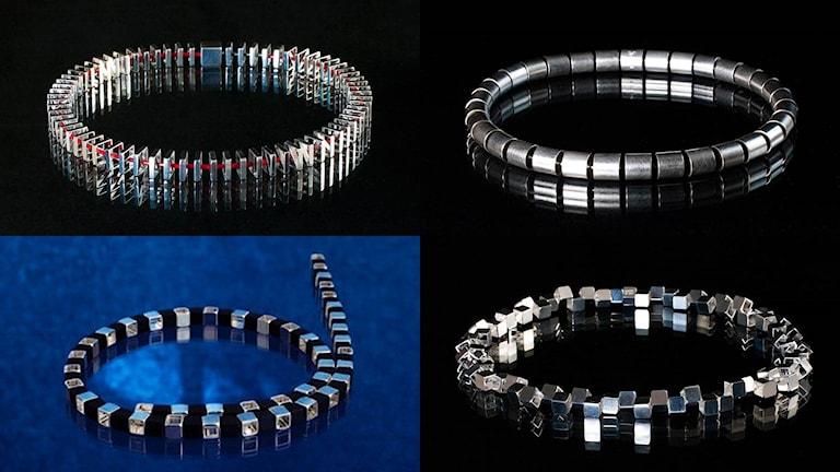 Silversmycken av Niklas Ejve