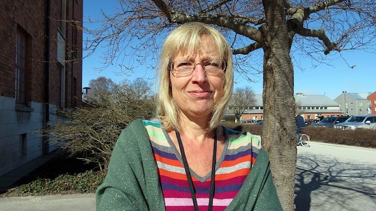 Migrationsverkets enhetschef på Gotland Cecilia Rosvall Viberg.