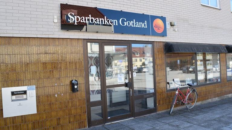 Sparbanken i Klintehamn.