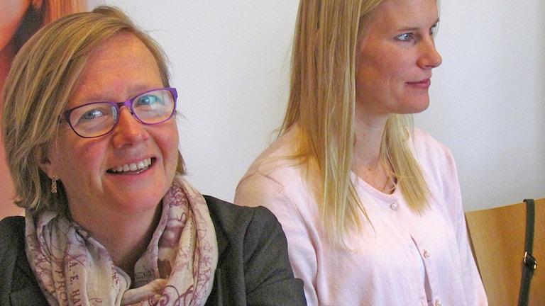 Kristina Jonäng och Emma Maraschin