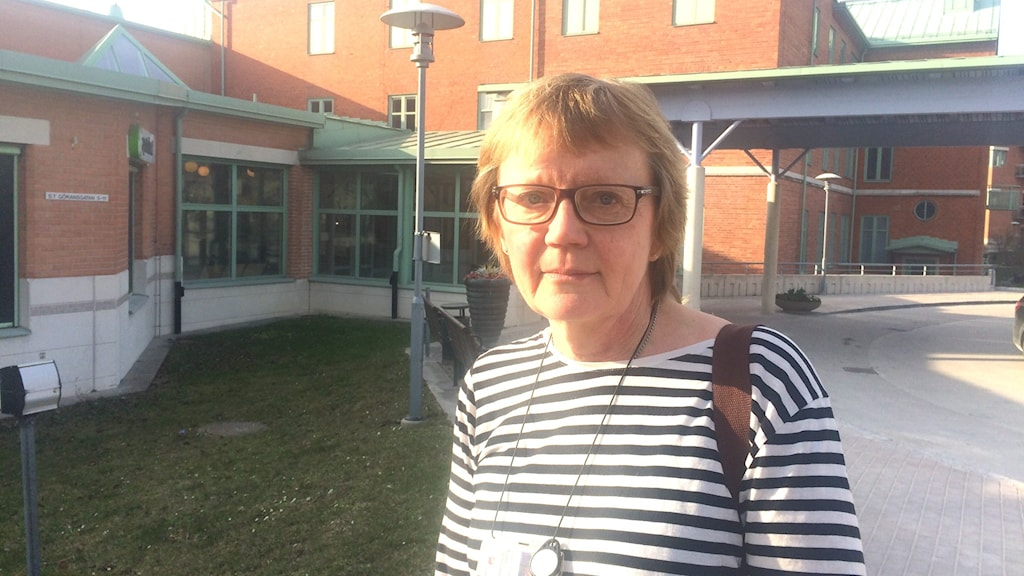 Birgit Offermans enhetschef på medicinavdelningen