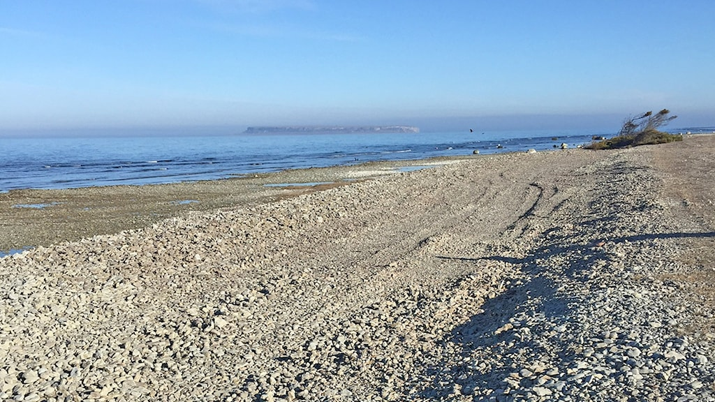 Stranden vid Eksta