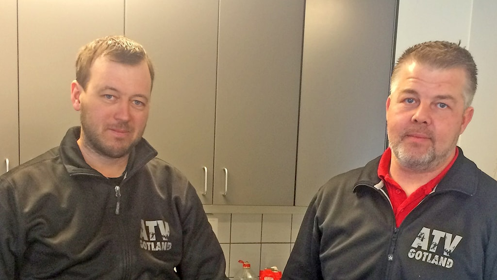 Tomas Jansson och Daniel Gahnström