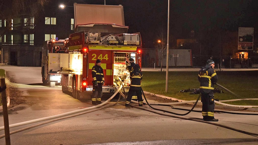 Garagebrand Visby Kolgården