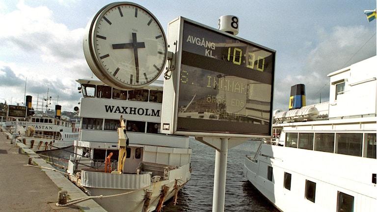Skärgårdstrafiken Stockholm